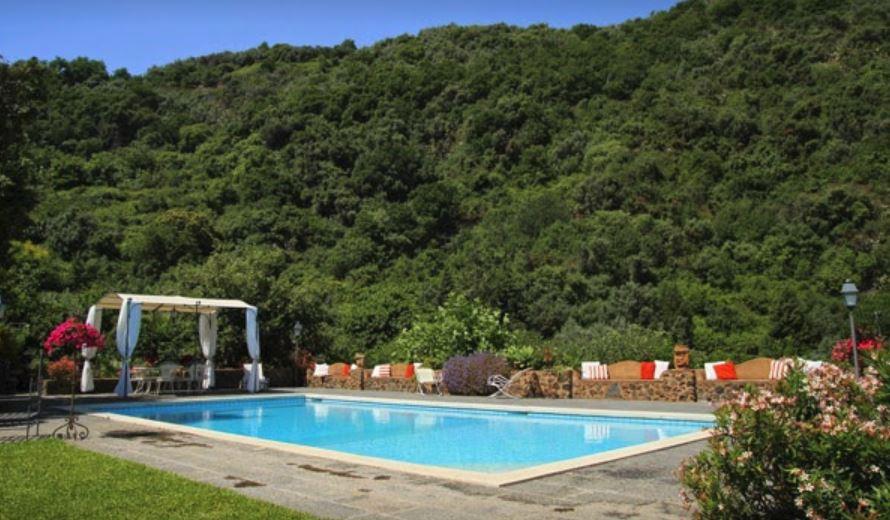 villa musumeci - piscina esterna