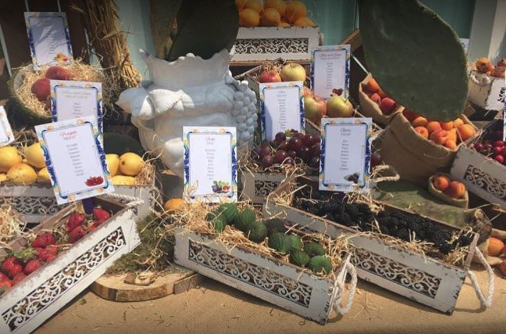 villa poggio mulara - buffet frutta